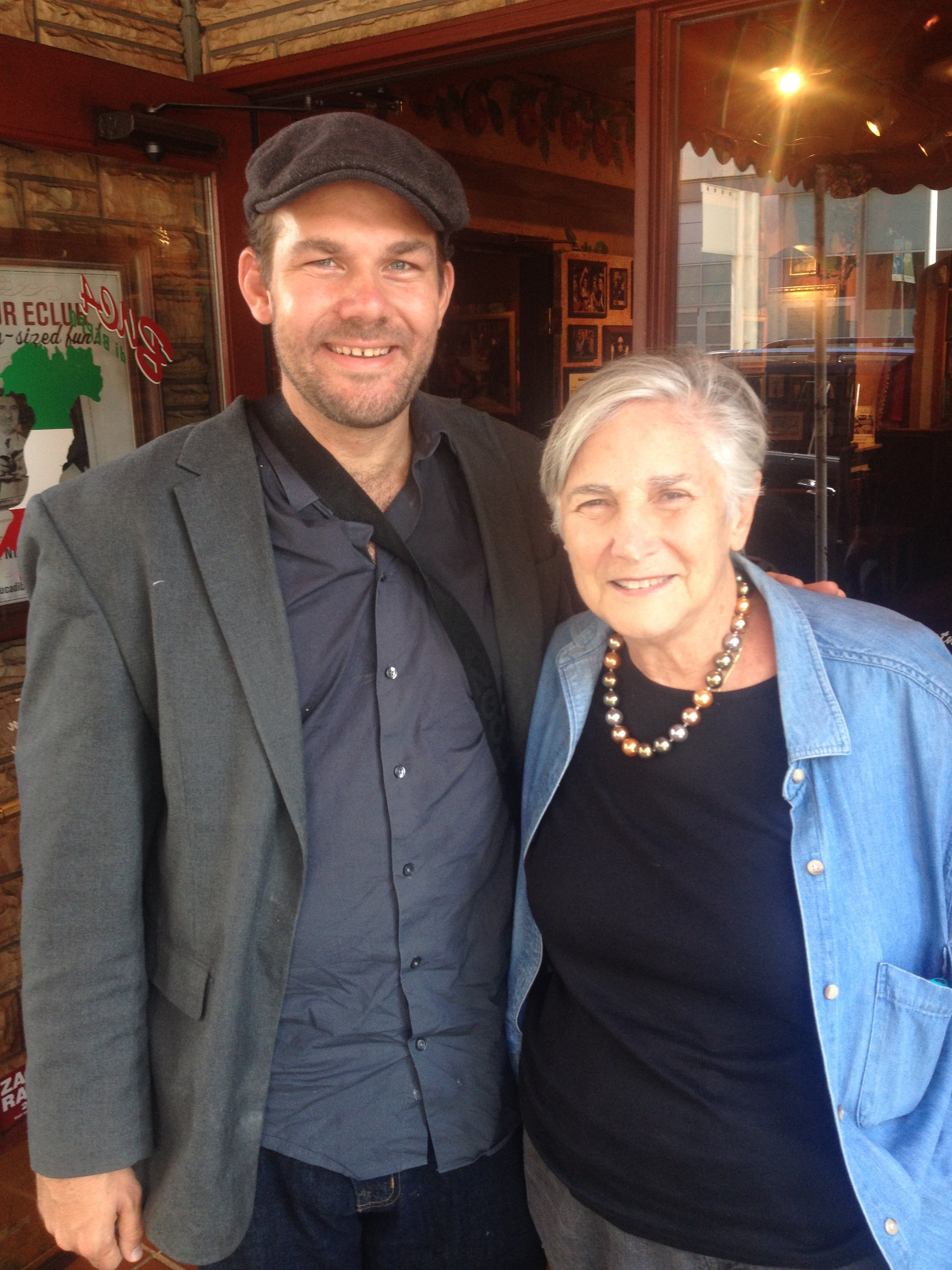 Diane Ravitch, Adam Bessie, and the Folsom Street Fair...